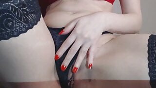 sweet squirt from masturbation with a toy