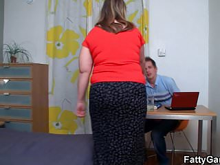 Real big white booty porn - Big white booty plumper doggy-fucked after blowjob