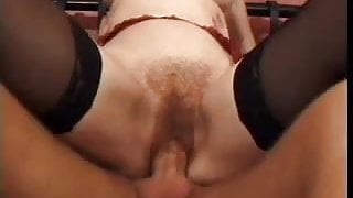 hairy mature redhead fuck in hotel