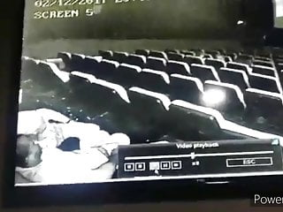 Black teens hardcore movie Movie theatre sex caught on hidden camera, public sex