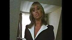 Susan George Black Bra & Panties