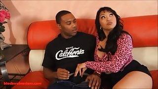 Chubby Asian Porn Whores fuck black cock