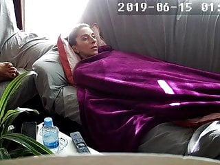 Cum in soft blankets Masturbating under a blanket next to her friend