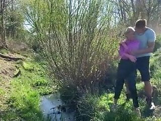 Willow stream spa beyond botox facial Couple walk outdoors have a anal piss fuck by a stream