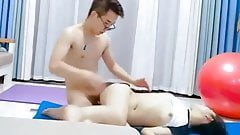 Chinese couple has hard sex