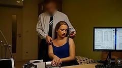LOAN4K. Slut fucks and dreams to become professional busines