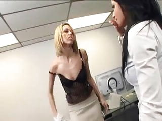 Lingerie office bittorrent Bitchy office secretaries turns into a threesome