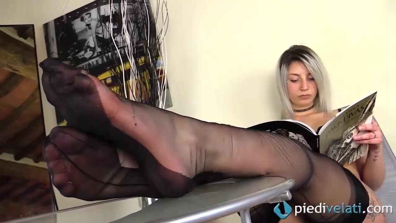 Mature German Nylon Feet