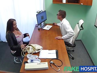 Over the counter dick erection medication Fakehospital babe wants doctors cum over her big huge tits