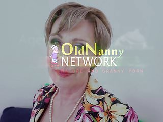 Amateur nanny sex - Old nanny czech grandma milena seductive selffuck