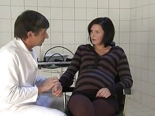 Nude doctors German pregnant milf