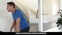 FamilyStrokes - Sexy Housewife Fucks Stepson