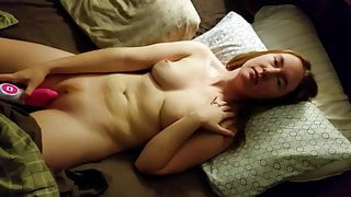 Sexy wife playing