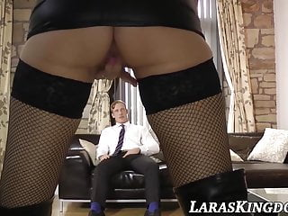 High heels stocking mature uk Uk milf in fishnets and high heels rides a huge cock
