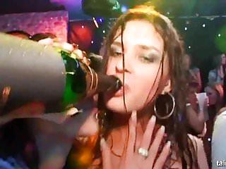 Sex bride videos Horny babes dances and fucks at a bride bang party