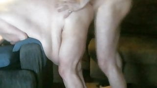 300 pounds of big belly BBW takes it in the pussy then ass