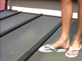 Pics of girls in sexy tops - Sexy girls in sexy flip flops 1
