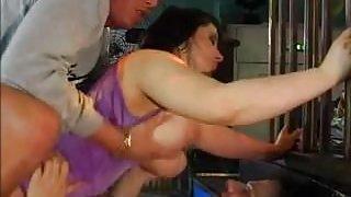 Huge Floppy Tits Huge Ass DP & Rough Assfuck