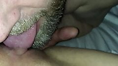 Girlfriend licked and Pussy fingered until she comes