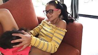 Hot schoolgirl Kate Rich loses virginity with nerd