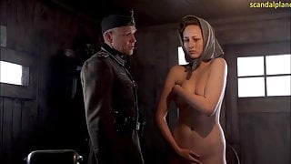 Leelee Sobieski Nude Boobs In Uprising Series