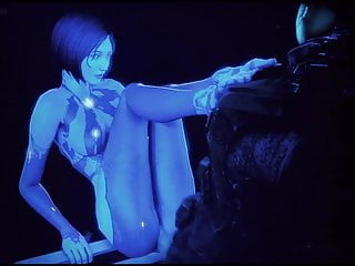 Halo cortana boobs nude Cortana sucks and fucks halo hentai compilation