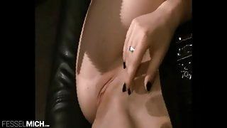 Sexy Police Officer Girl likes to show her wet pussy for slave