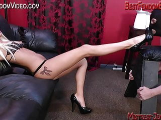 Bdsm cell popping permanent Pack him pop him with mistress summer
