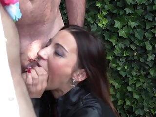 Bang me hard sex videos Julie hot babe slut get hard gang-bang by hanibal2020