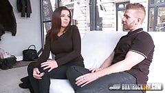 Gorgeus Rye Tye fucks in public