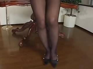 Mature pantyhose videos - Sexy jav mature pantyhose show 1