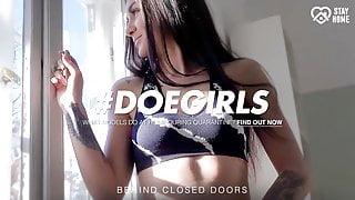 DOEGIRLS Hot Quarantine Outdoor Sex With Sexy Teen Lullu Gun