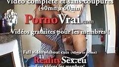 Black a gros seins orgasme en levrette !! French amateur
