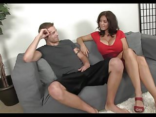 Young young cock sucking - Busty mature sucks young cock