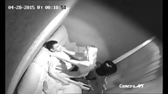 Security camera from strip club private room