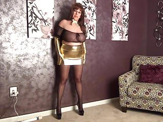 Nylon milf tease tube Teasing you senseless.