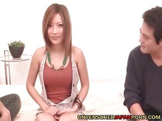 2 girls teach sex uncensored - Uncensored japanese threesome sex aika fucked by 2 guys