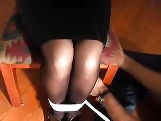 Chair sniffing for womans sex odours Chair tied woman