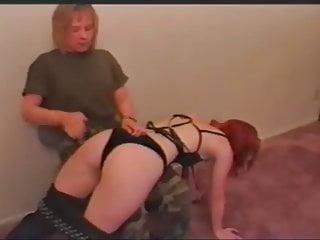 Upskirts panties and wedgies Black panties wedgie spank