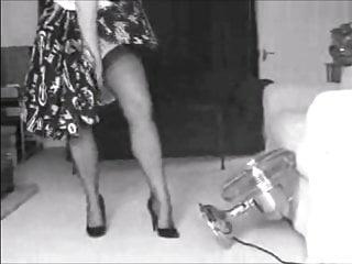 Milf stocking clips Legshow clips found on web
