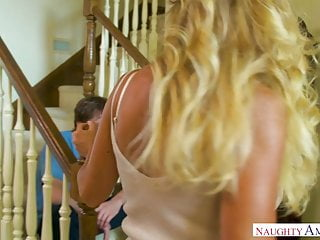 Virgin deflagration in - Australian milf aubrey black takes teens virginity