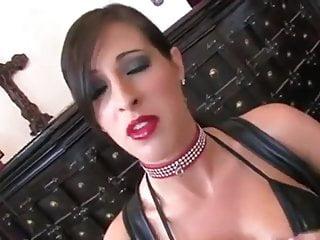 Bondage fellatio Fellatio in leather