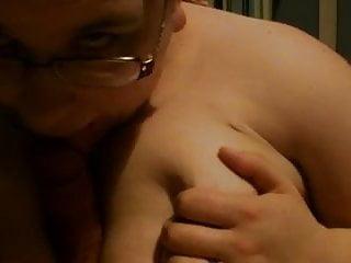Titfuck cum Blowjob and titfuck with cum on boobs