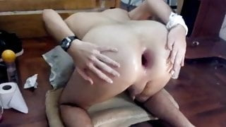 Arab gay maroc gape hole ass prolapse