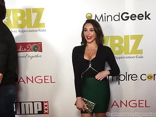 Free sex video clips of red carpet nominees Xbiz rise party red carpet 2017 - part 2