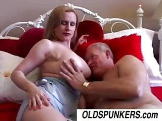Big busty older nurse - Lavender is a beautiful busty older babe