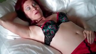 Fuck to orgasm redhead mature MILF - homemade