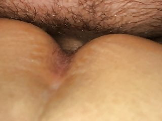 Her tight pussy while she sleeps Love to vibe her tight pussy while fucking her