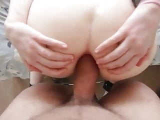 Girl asshole fucking cgair - British gf asshole fucking