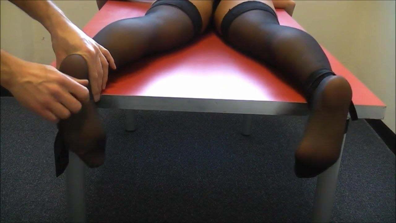 Lesbian Feet Tickle Tied